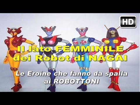 Le donne Robot nelle storie di Nagai