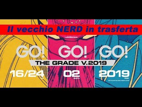 Go Go Go, the Grade 2019 – il vecchio nerd a Roma