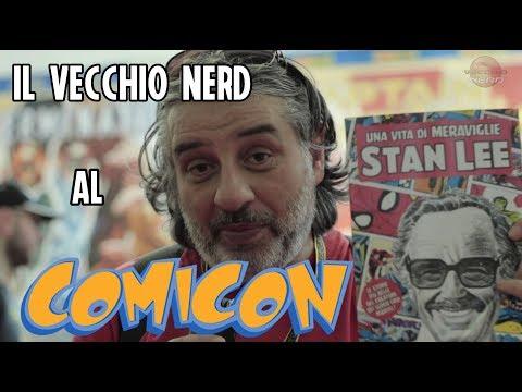 Un vecchio nerd al #Comicon 2019