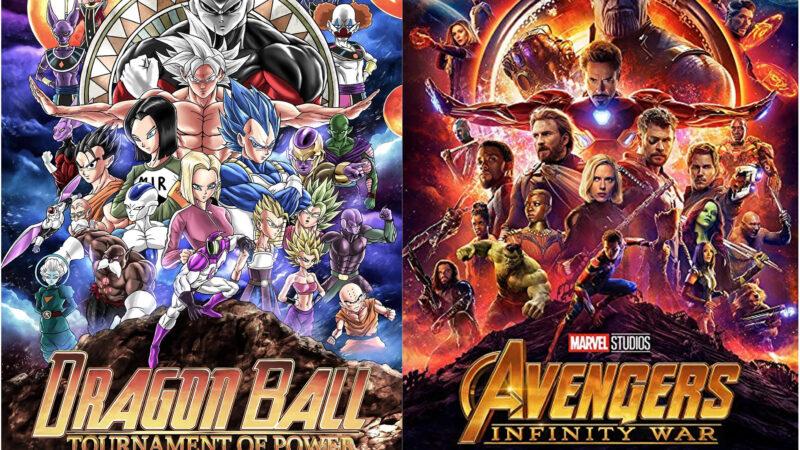 Il manifesto di DragonBall che ha copiato gli Avengers