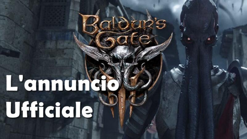 Baldur's Gate 3. In arrivo il sequel di un gioco che ha fatto la storia dell' RPG