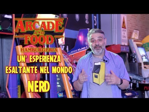 #Retrogaming Arcade and Food, un'accoppiata vincente. Il vecchio nerd in trasferta